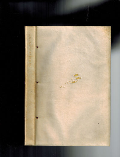 London: The Nonesuch Press, 1929. #1546 of an edition of 1600, 1200 copies for sale by the Nonesuch ...