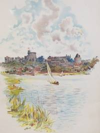 1905 Charles Wilkinson Print: 'Windsor Castle from the Brocas' [County Berkshire], after a photograph by Poulton & Son, Lee