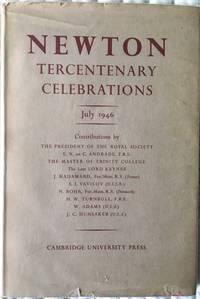 The Royal Society. Newton Tercentenary Celebrations 15-19 July 1946