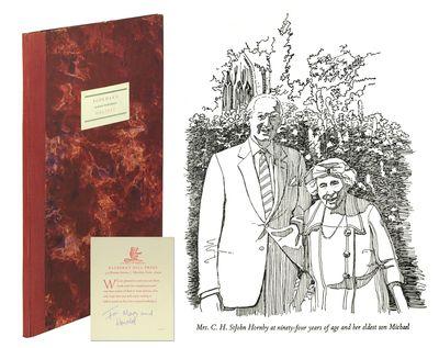 Slim folio. : Bayberry Hill Press, 1971. Slim folio, (5), 22, (1, colophon)pp. Original quarter red ...