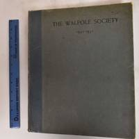 19th Annual Volume of the Walpole Society, 1930-1931