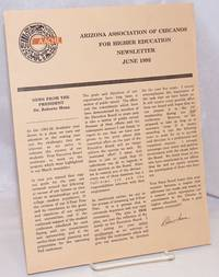 Arizona Association of Chicanos for Higher Education: Newsletter, June 1992