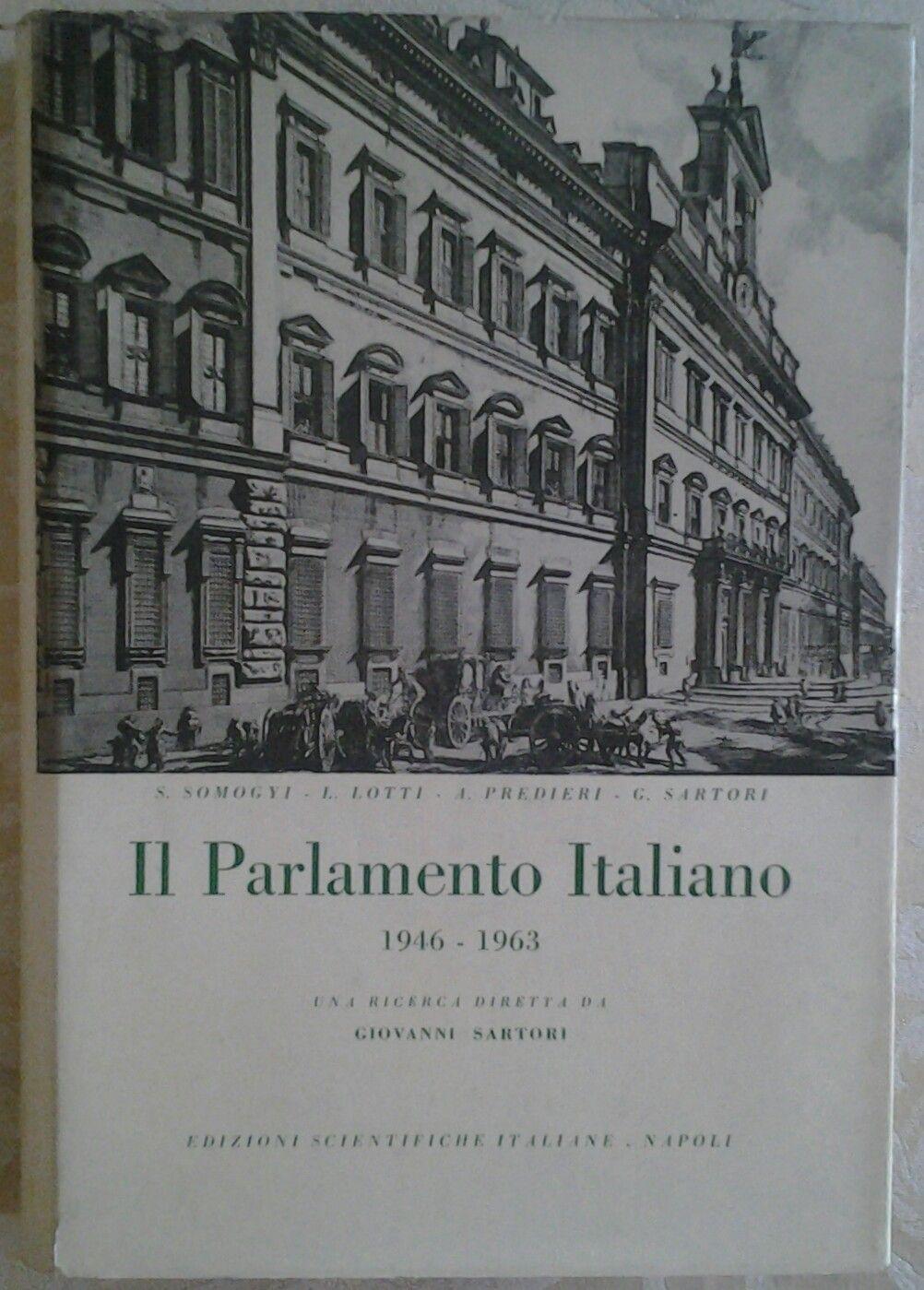Il parlamento italiano 1946 1963 una ricerca diretta for Parlamento in diretta