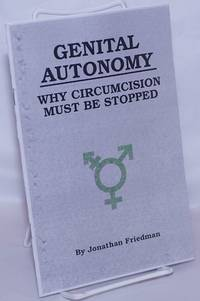 image of Genital Autonomy: Why Circumcision Must be Stopped