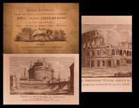 Nuova raccolta di cento principali vedute antiche e moderne dell' alma citta' di Roma e delle sue...