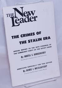image of The Crimes Of The Stalin Era