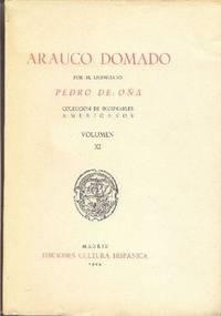 Coleccion de Incunables Americanos Siglo XVI Volumen XI - Arauco Domado