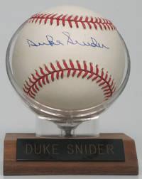 image of Signed Baseball