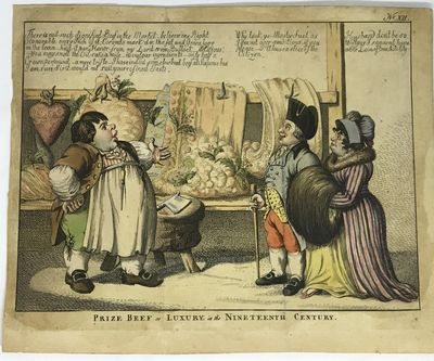S W Fores, 1802. Loose_leaf. Hand colored etching. Very good. Williams, Charles. A waggish sense of ...