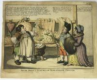 [POLITICAL] [ETCHING] Prize Beef or Luxury in the Nineteenth Century