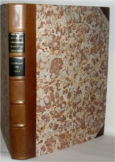 Toronto: John Lovell, 1859. sep 22 2017. Tall 4to, unpaginated (45 pp.) b/w and color folding maps. ...