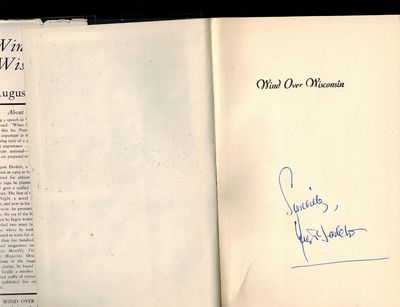 New York: Charles Scribner's Sons, 1943. SIGNED BY AUTHOR on half-title page -