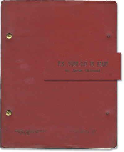 N.p.: N.p., 1970. Draft script for the 1975 play, which premiered on April 7 at the John Golden Thea...