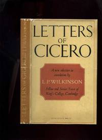 Letters of Cicero: a New Selection in Translation