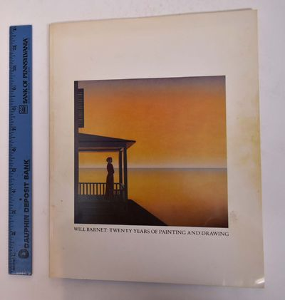 1979. Softcover. VG. Wraps. 48 pp. 4 color, 21 bw plates. Essays by Burt Chernow (Will Barnet: An In...