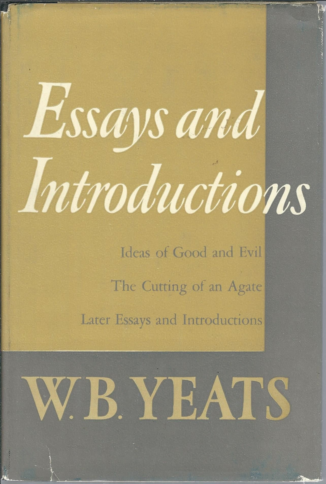 Essays introductions yeats