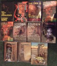Roland Deschain Cycle: Gunslinger; Drawing Three; Waste Lands; Wizard & Glass; Wolves Calla; Song Susannah; Dark Tower; Little Sister of Eluria; Wind Through Keyhole -12 Volumes - all # 433 -book I, II, III, IV, V, VI, VII, VIII Plus Eluria ( Wastelands ) by  Stephen (signed)(aka:  Richard Bachman ) / Donald M Grant - SIGNED LIMITED EDITIONS King - Signed First Edition - 1982 - from Leonard Shoup  and Biblio.com