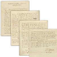 Thomas Jefferson Exceptional Presidential Address to the Cherokee Nation Manuscript