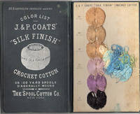 """J. & P. Coats' """"Silk Finish' Crochet Cotton; On 100 Yard Spools Diagonally Wound [ No. 3 Canceling Previous Issues]"""