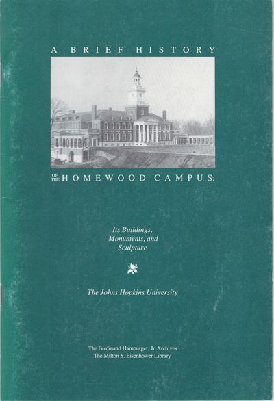 Baltimore: Johns Hopkins University / Ferdinand Hamburger Jr Archives / Milton S Eisenhower Library,...