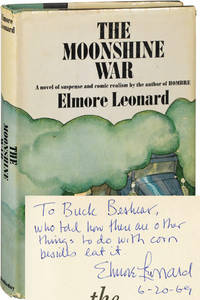 The Moonshine War (Signed First Edition, the dedication copy)