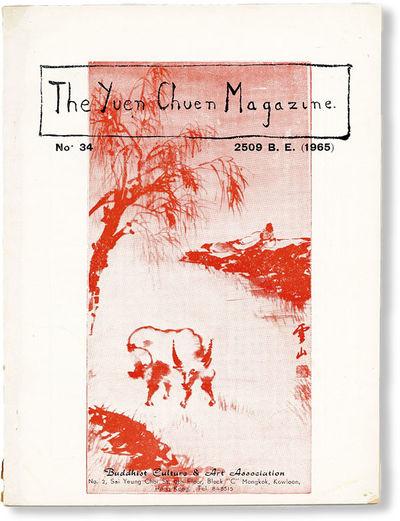 Hong Kong: Buddhist Culture & Art Association, 1965. First Edition. Octavo (21cm.); publisher's whit...