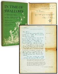 In Time of Swallows and Autograph Letter Signed