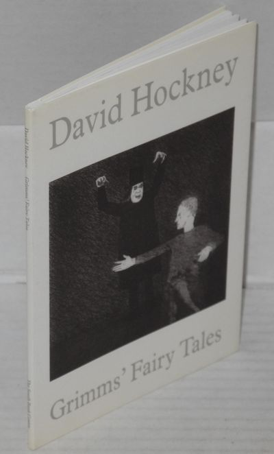 London: South Bank Centre, 1993. Paperback. 32p., 4.25x6 inches, notes on the stories by Hockney, il...