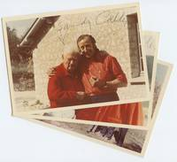 Two Signed Color Candid Photographs with Collectors Arthur & Anita Kahn