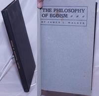 image of The Philosophy of Egoism