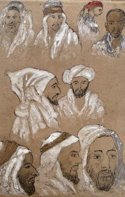 [Drawing book Algeria, Spain, Greece,...