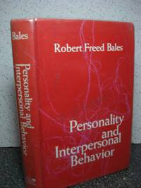 Personality and interpersonal behavior