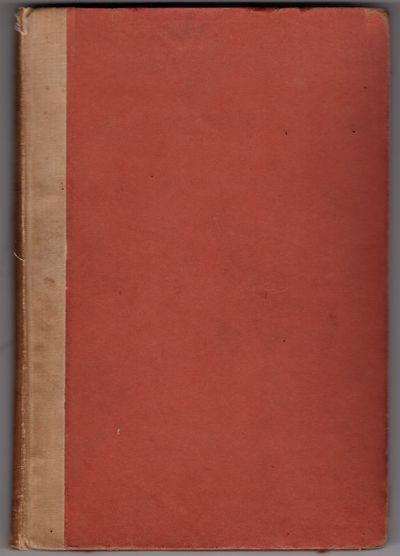 London : John Lane the Bodley Head , 1899. First Edition. Hardcover. Good. Small octavo, quarter lin...