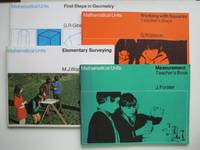 image of First steps in geometry, with, Working with squares, with, Measurement  plus teacher's book, with, Elementary surveying. 4 books in the  mathematical units series