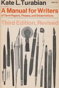 image of Manual for Writers Of Term Papers, Theses, and Dissertations