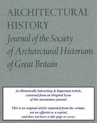 The Inception Of The English Railway Station. An original article from the Architectural History...