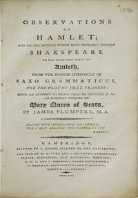 Observations on Hamlet
