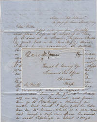 Letter from a young man to his mother describing his travels on the Mississippi River and plan to return East by the Ohio