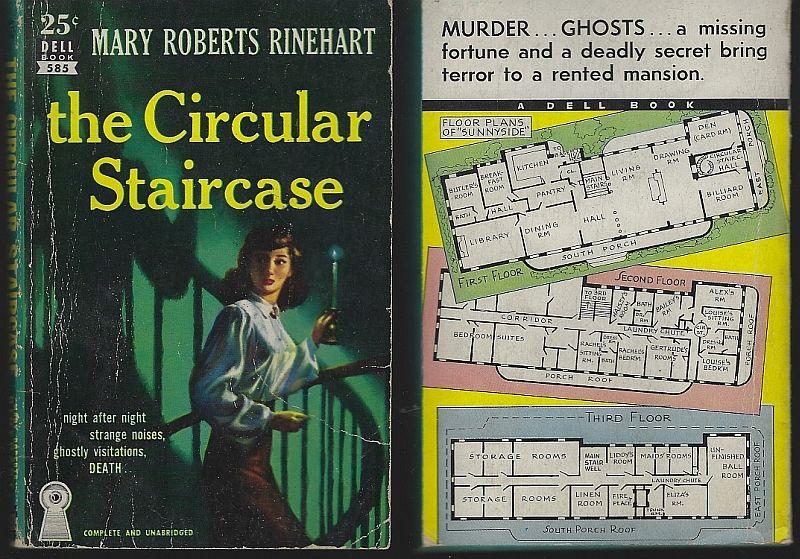 CIRCULAR STAIRCASE, Rinehart, Mary Roberts