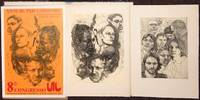 [Two etchings and poster for 8th Congresso UIL]