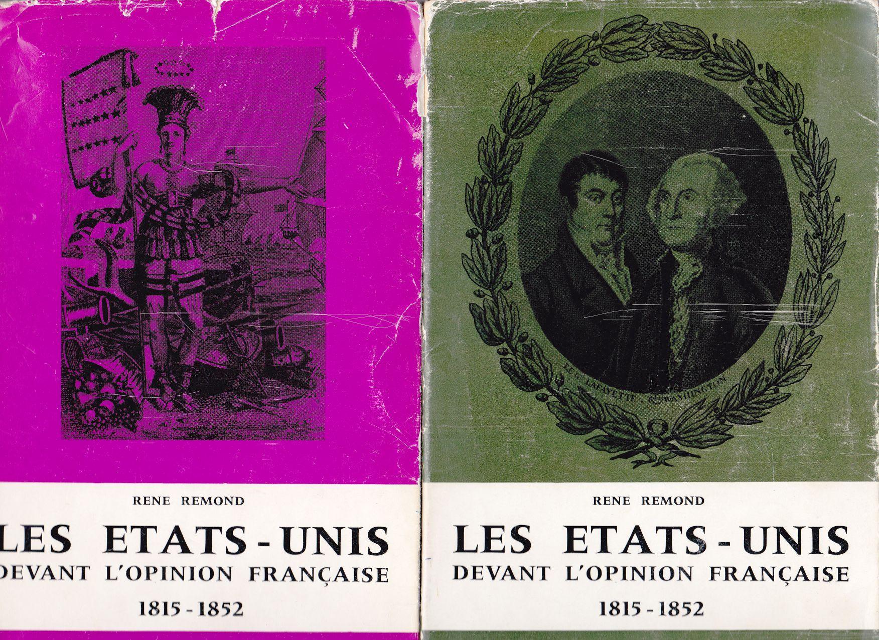 les tats unis devant l 39 opinion fran aise 1815 1852 2. Black Bedroom Furniture Sets. Home Design Ideas