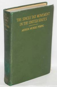 image of The single tax movement in the United States