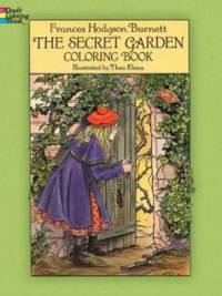 The Secret Garden Coloring Book by  Frances Hodgson Burnett - Paperback - 2014 - from ThriftBooks and Biblio.com