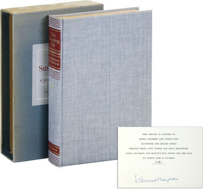 New York: Doubleday & Company, Inc. Limited Issue, one of 375 numnbered copies signed by the author....