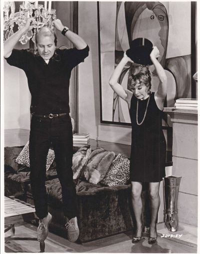 Universal City: Universal Pictures, 1969. Vintage reference photograph of director Bob Fosse showing...