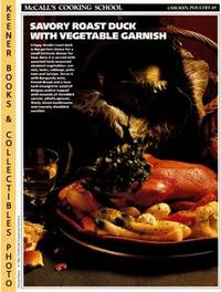 McCall's Cooking School Recipe Card: Chicken, Poultry 49 - Roast Duckling  With Vegetables...