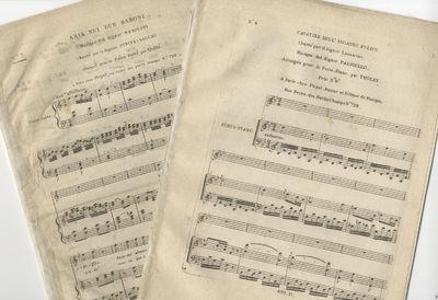 Paris: Pleyel , 1800. Folio. Disbound. 7 pp.