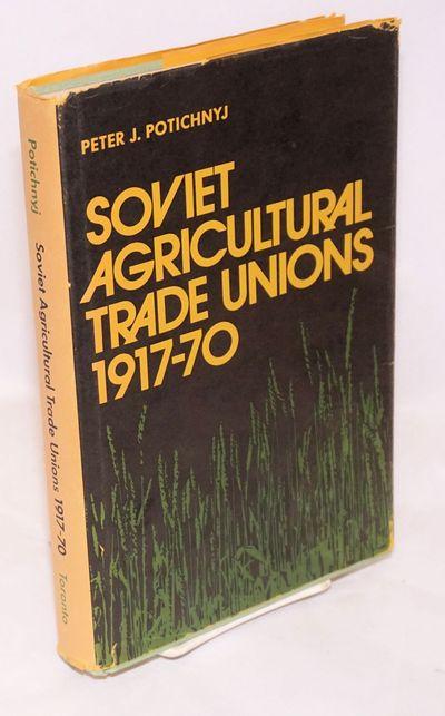 Toronto: University of Toronto Press, 1972. Hardcover. xix, 258p., hardbound in 9.5x6 inch green clo...