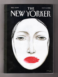 "image of The New Yorker - October 8, 2018. Ana Juan Cover, ""Unheard"". Ruth Bader Ginsburg; Swiss Etiquette; Women of Abstract Expressionism; The Memory House; Cat Power; Max Ritvo; Machine Dazzle; Bill Traylor; The Old Man & the Gun"