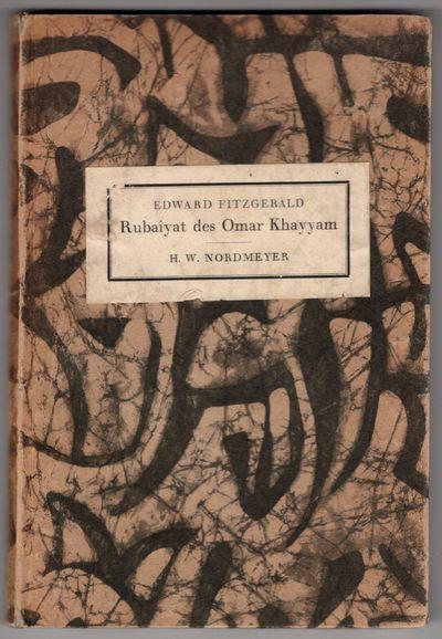 Postdam : Gustav Kiepenheuer Verlag , 1926. First Edition. Hardcover. Very good. Limitation of 500, ...